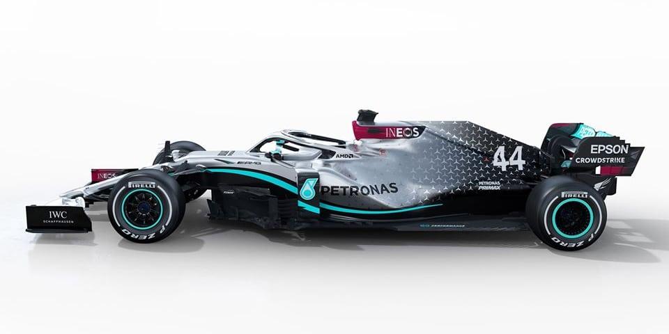 První fotky Mercedesu W11