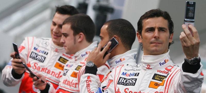 Hamilton bude problém, věděl po prvním testu de la Rosa