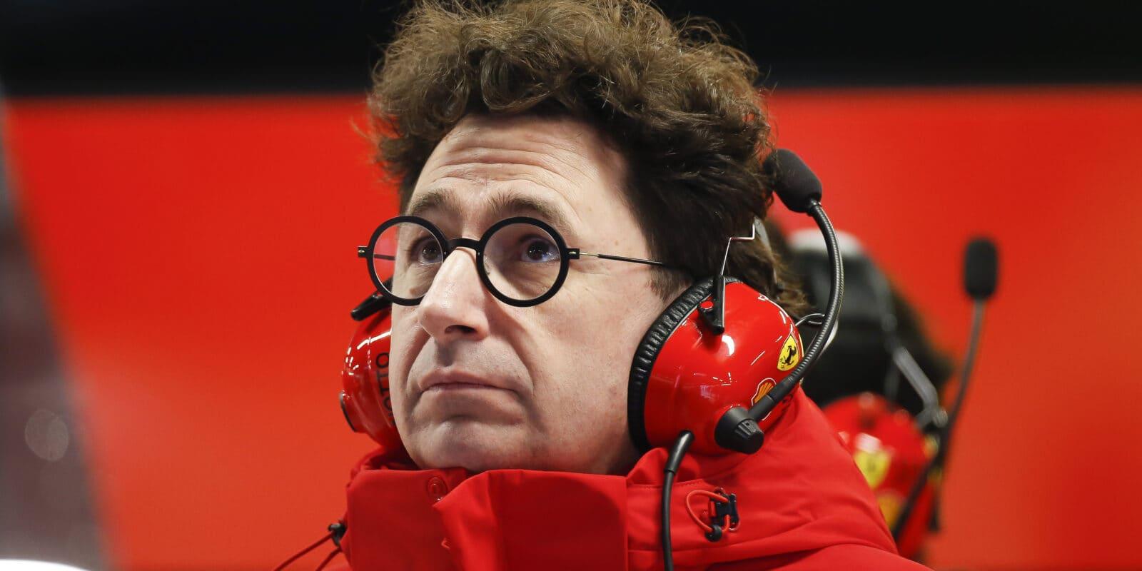Binotto připouští, že letos Ferrari žádný závod nevyhraje