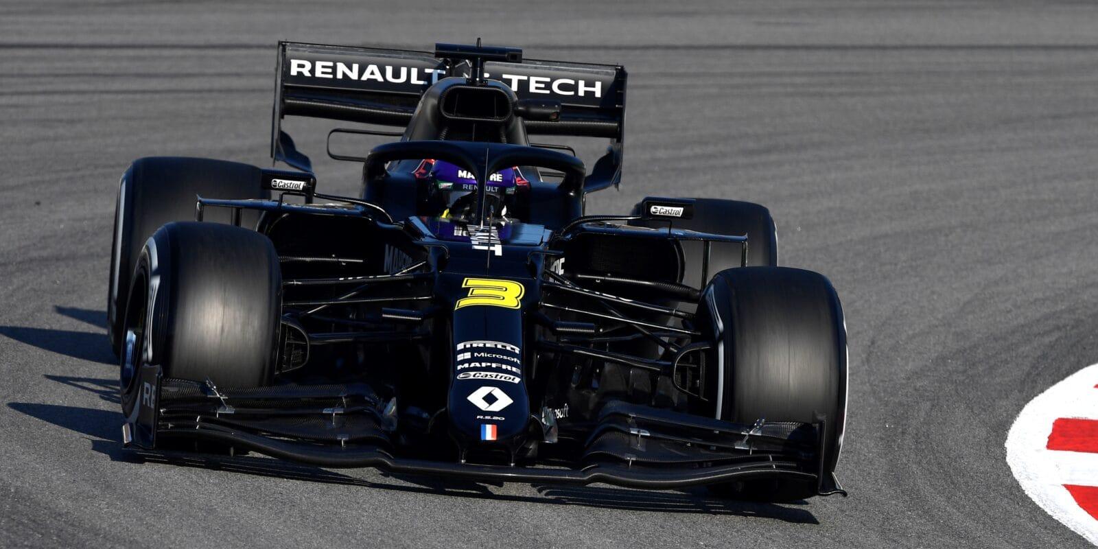 Z vozu jsem nevytěžil maximum, říká Ricciardo