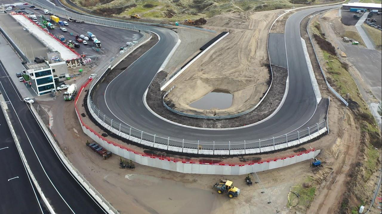 Verstappen se projel na renovovaném Zandvoortu