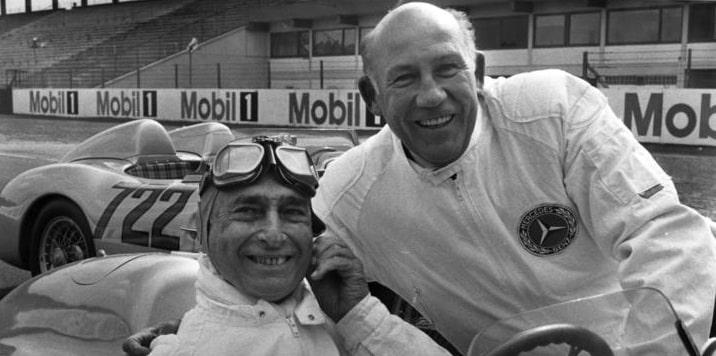 4 úžasné závody Stirlinga Mosse