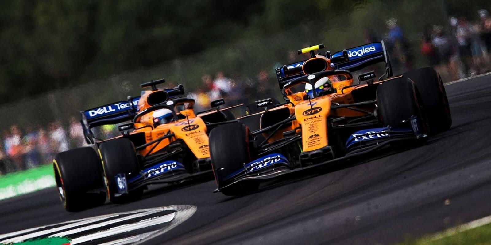 Silverstone pozpátku by byl zajímavý, přiznává Norris