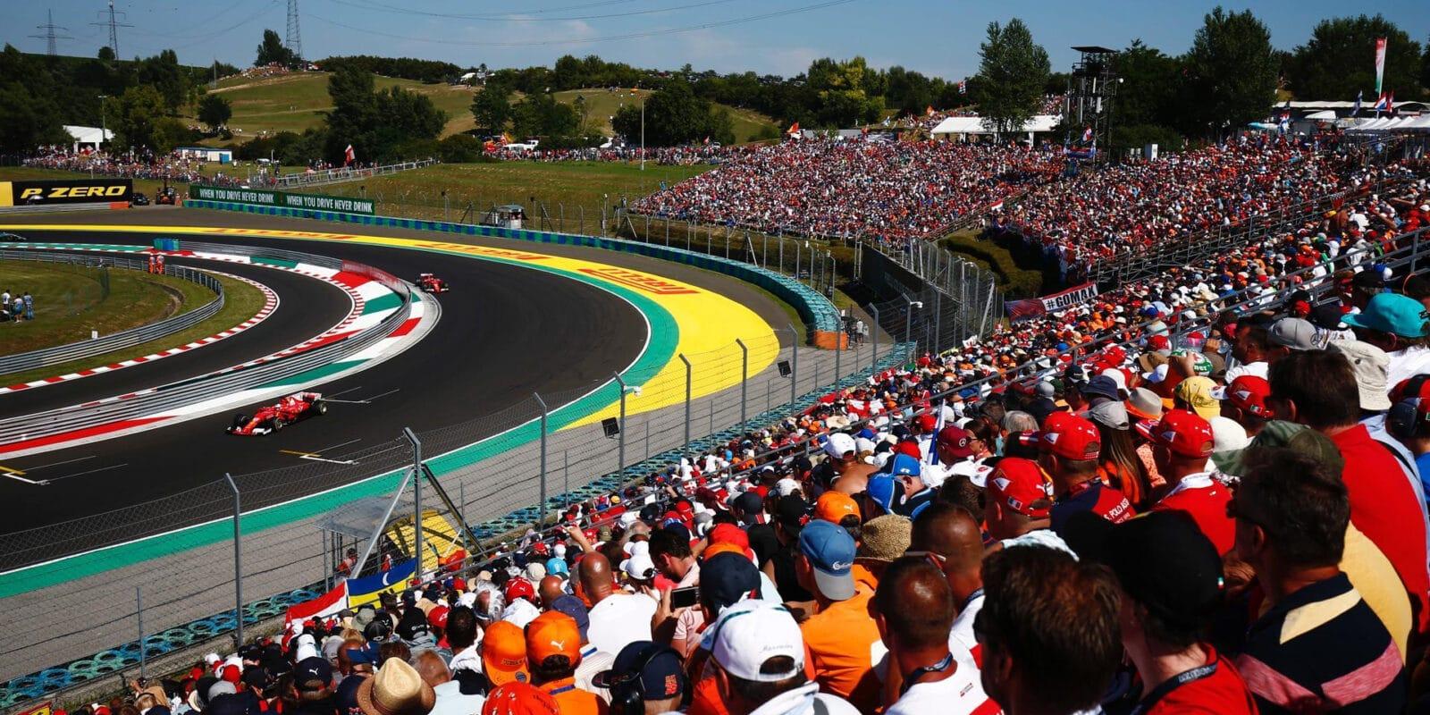 Hungaroring vzkazuje: Pokud závod, tak bez fanoušků