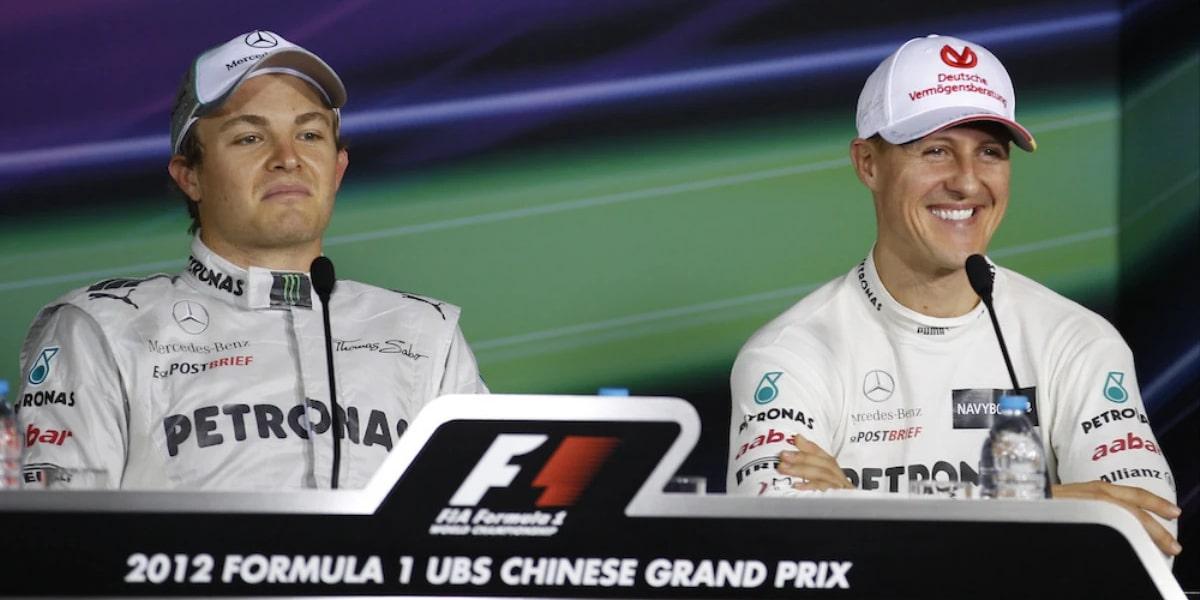 Michael se vám dostal do hlavy, vzpomíná Rosberg