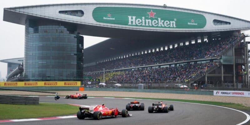 Vedení F1 nabídlo Číně v letošní sezóně dva závody