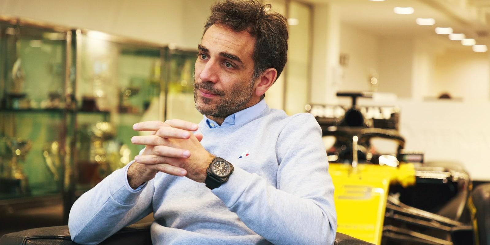 Abiteboul: Spolupráce mezi týmy se v roce 2022 změní
