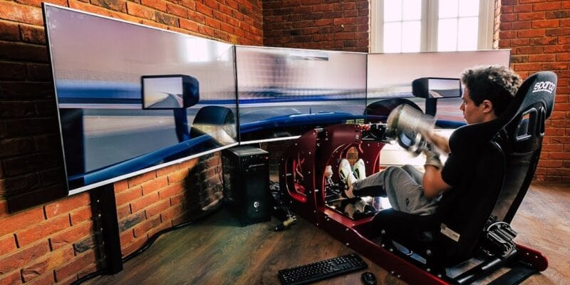 Norris: Nebudu mít díky virtuálnímu závodění výhodu