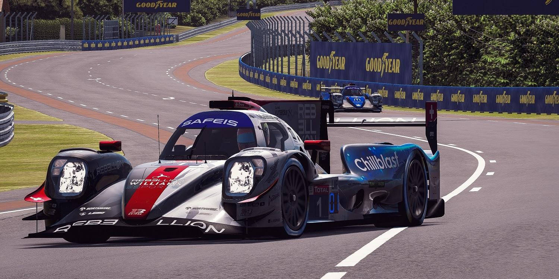 Virtuální 24h Le Mans: Rebelové se ubránili před ByKollesem