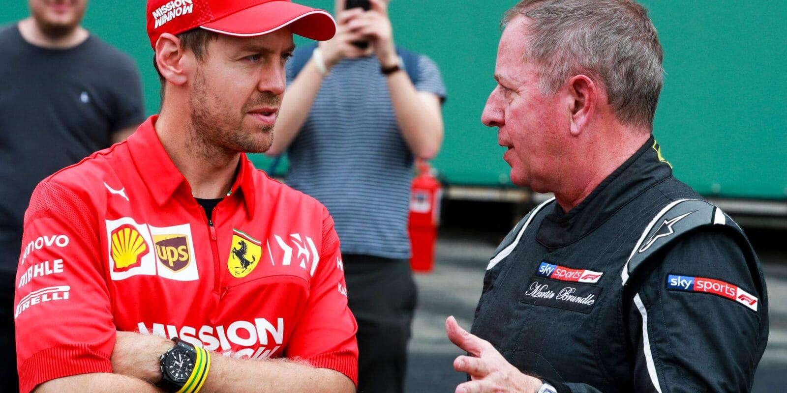 "Vettel bude letos ""létat"", myslí si Brundle"