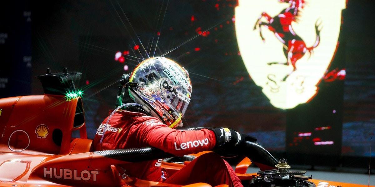7 nejlepších závodů Sebastiana Vettela u Ferrari
