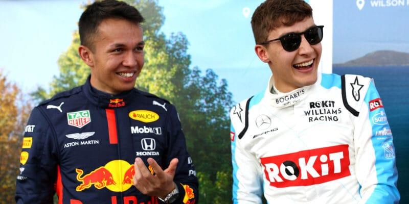 Russell: Red Bull se trápí a Albon pak vypadá jako idiot