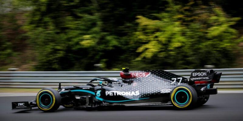 Bottas si věřil na pole position, ztratil desetinu sekundy