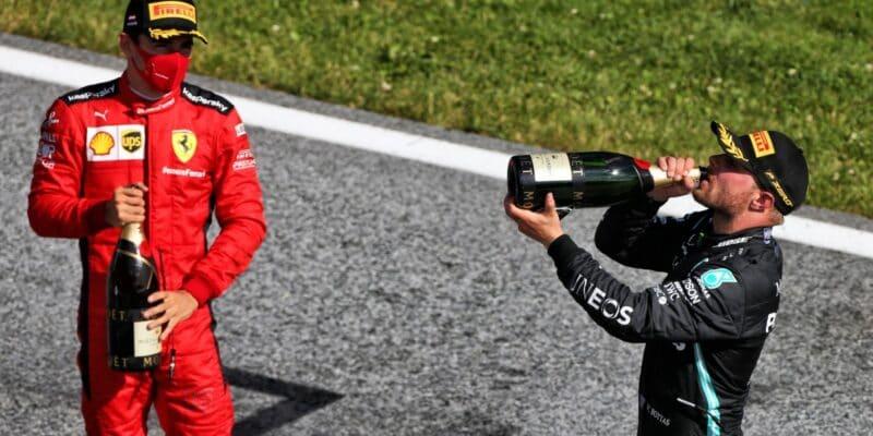 Zatím jen varování: Bottas a Leclerc nedodrželi protokol