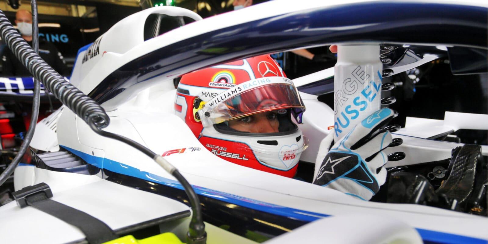 Russell k Mercedesu nepůjde, zůstává u Williamsu