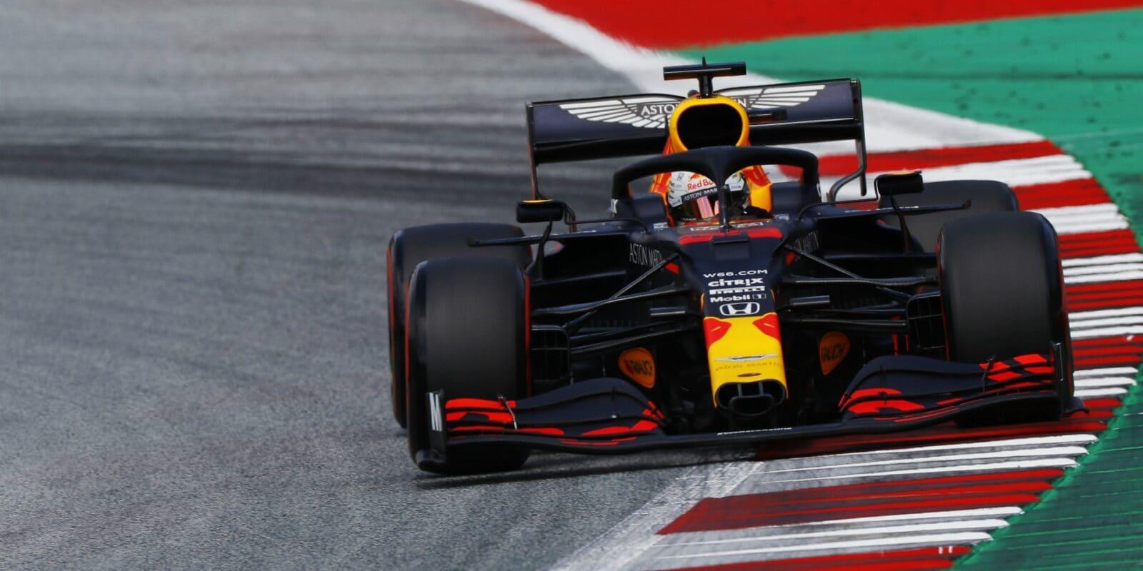 Verstappen se v kvalifikaci trápil s vyvážením vozu