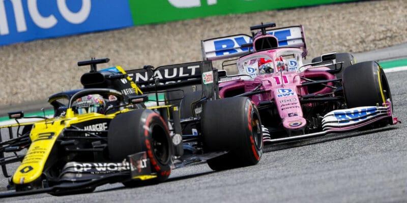 Bude pod růžovou stříbrná? Renault podal protest proti Racing Pointu
