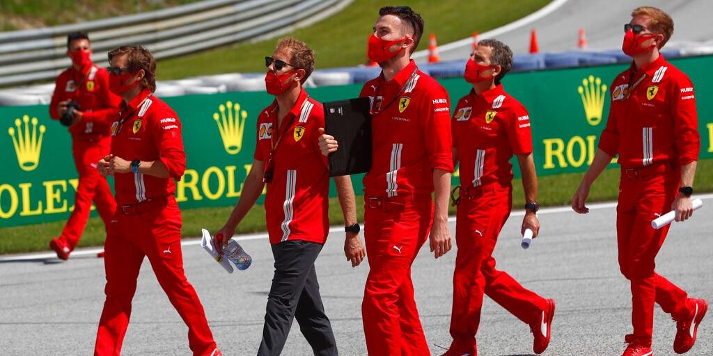 Vettel: Binotto mi zavolal a řekl, že je konec