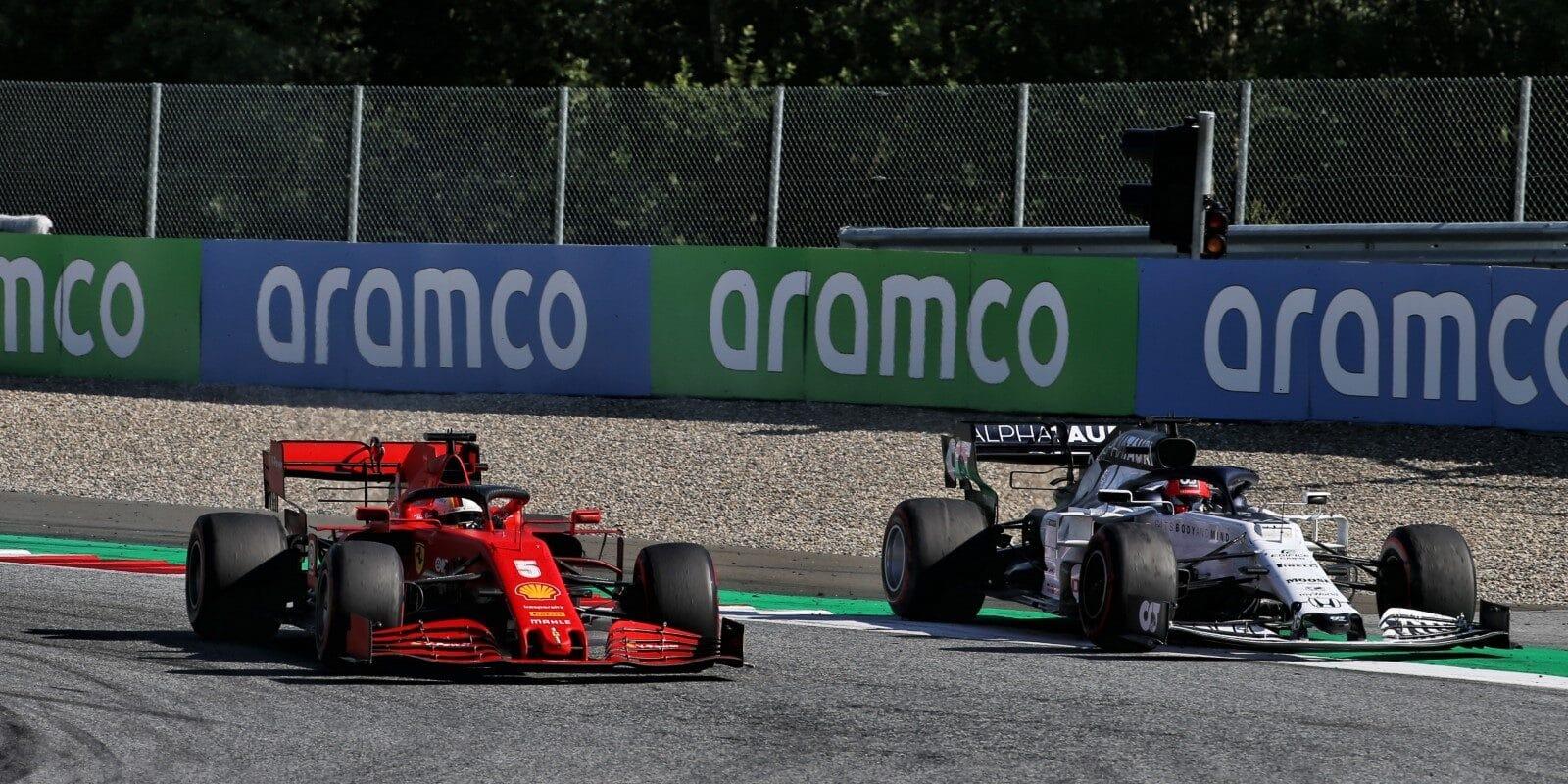 Vettel: Mám štěstí, že jsem se roztočil jen jednou