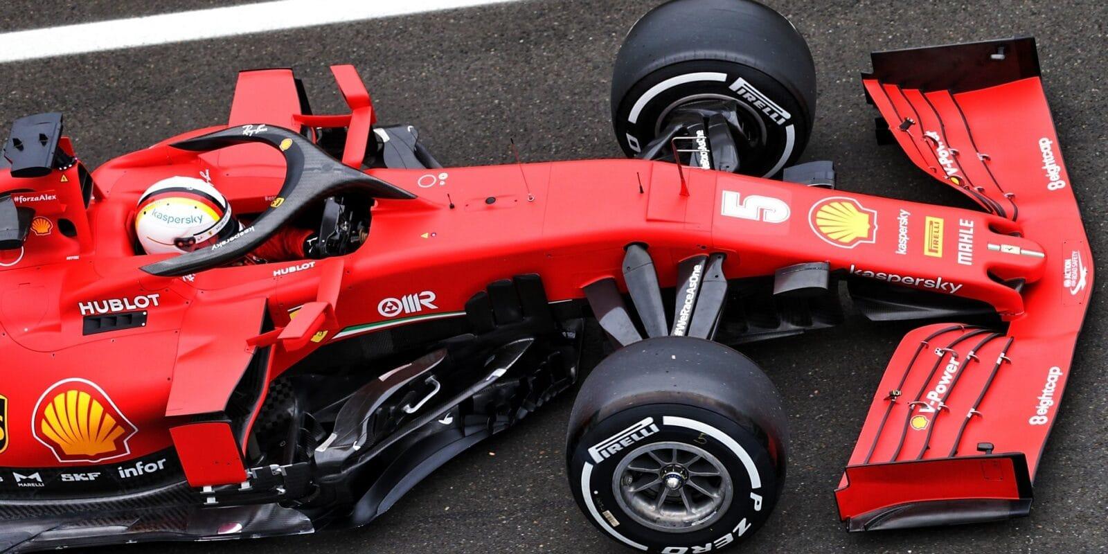 Zmáčený odpolední trénink patřil Vettelovi