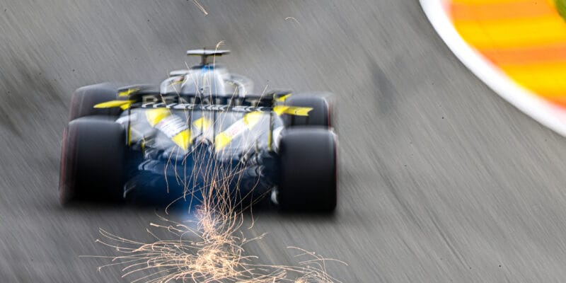 Ricciardův motor je po poruše v FP2 nepoškozen