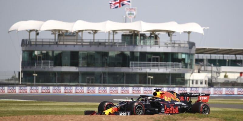 Verstappen se nakonec radoval z druhého místa