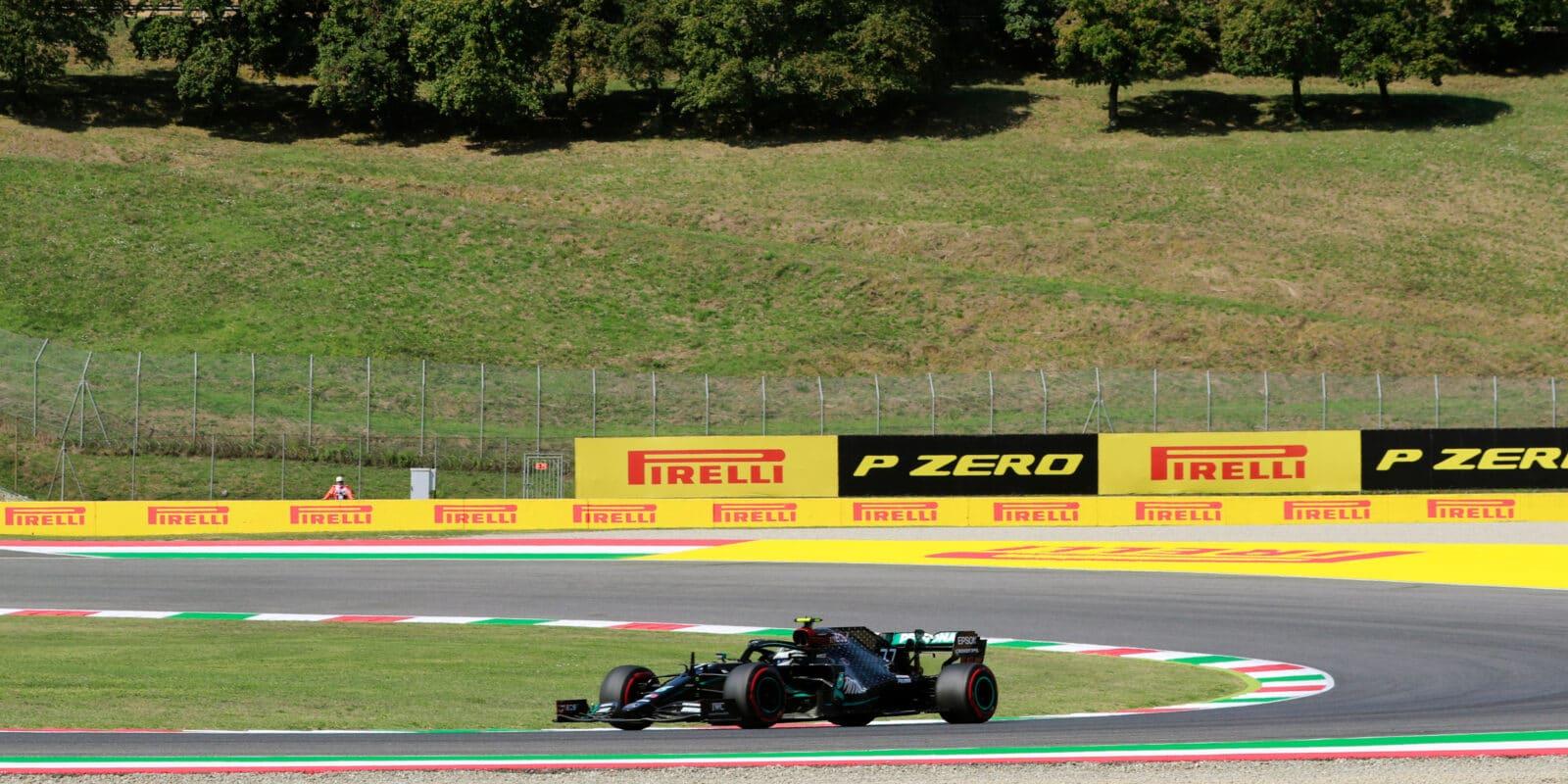 FP2 v Mugellu: Bottas opět nejrychlejší