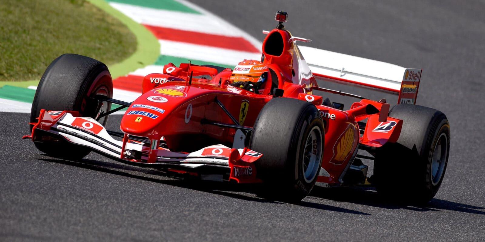 Mick Schumacher porovnal rozdíly mezi F2004 a SF71H