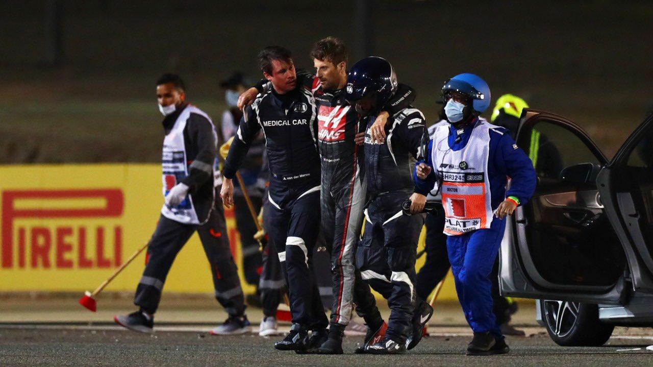 Analýza: Jak došlo ke Grosjeanově nehodě?