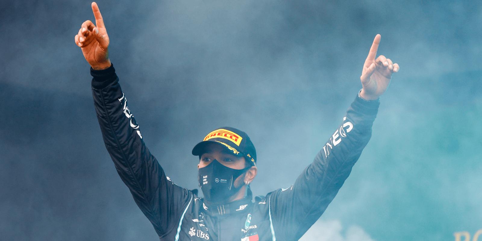 Hamilton o sedmém titulu: V posledním kole jsem málem nezvládl emoce, v F1 chci zůstat