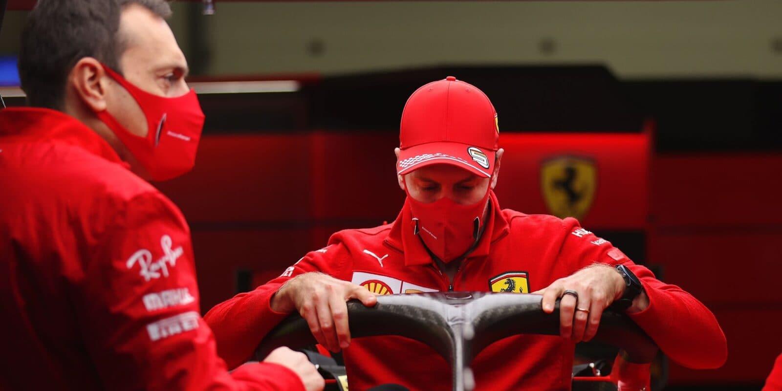 Vettel pomýšlel na výhru, Leclerc pouhé zklamání