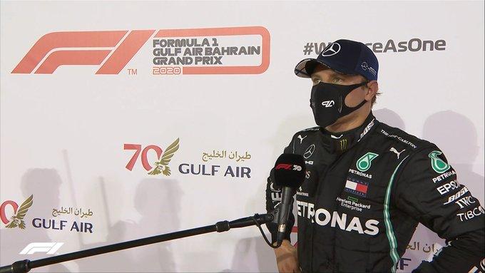 """Bottas po bezchybném kvalifikačním kole: """"Ztráta na Hamiltona je matoucí"""""""