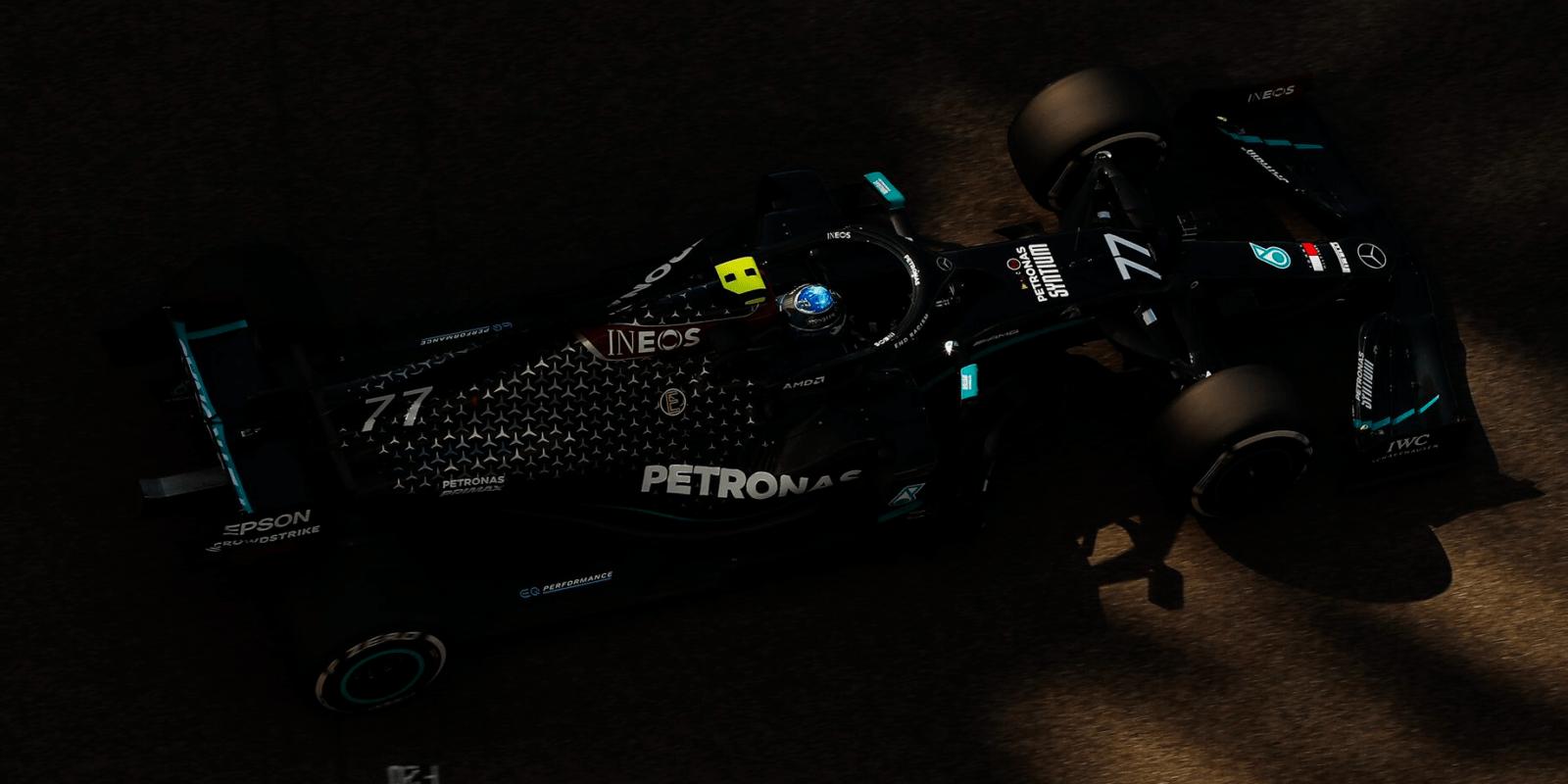 FP2: Pro nejrychlejší kolo si dojel Bottas, Räikkönen nedokončil
