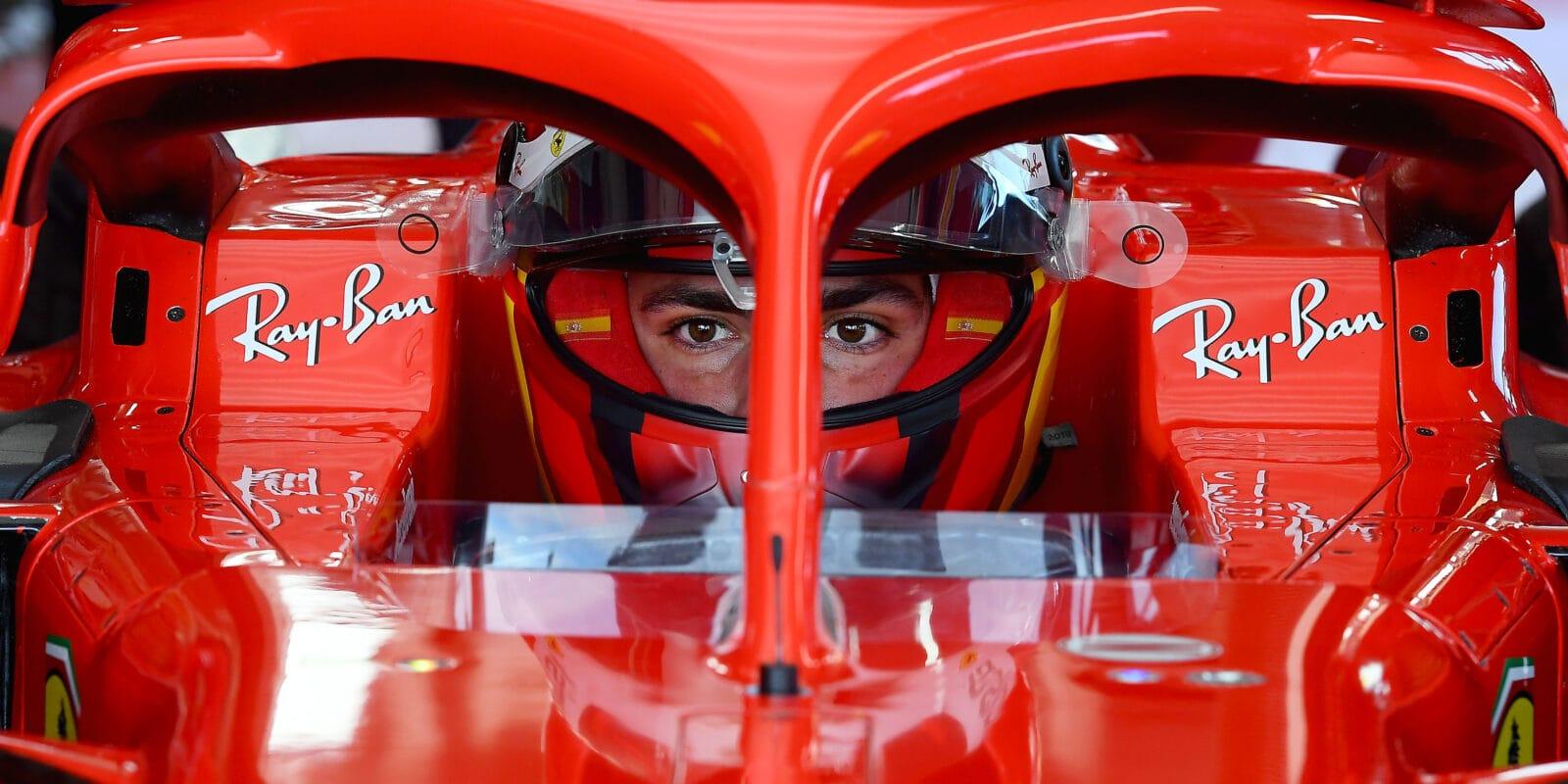 Sainz zhodnotil první jízdu ve Ferrari