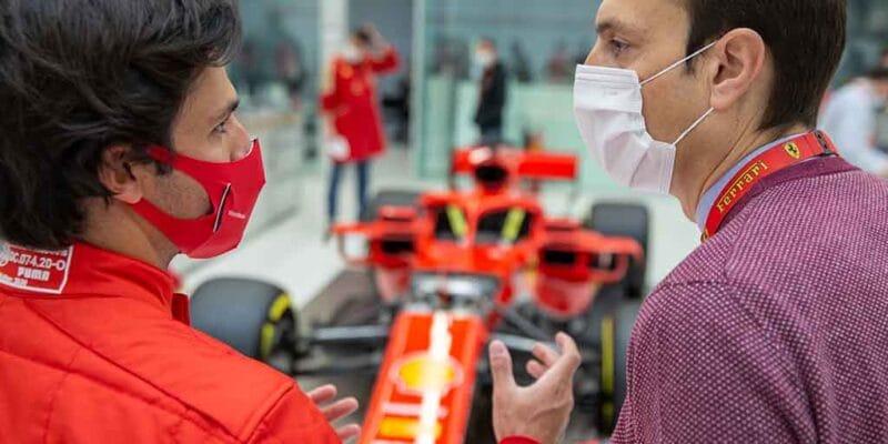 Sainz nehodlá využít Ferrari pro sebepropagaci