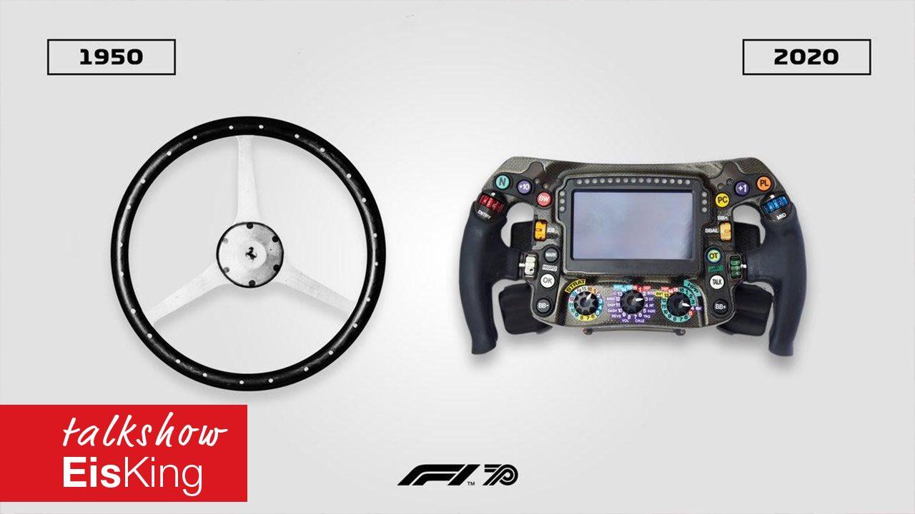 EisKing Speciál: Tajemství volantu F1 a mnohé další