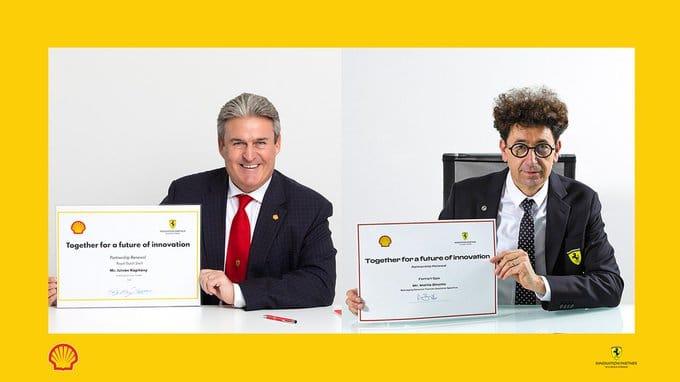 Dlouhodobá spolupráce Scuderie Ferrari a Shell opět prodloužena