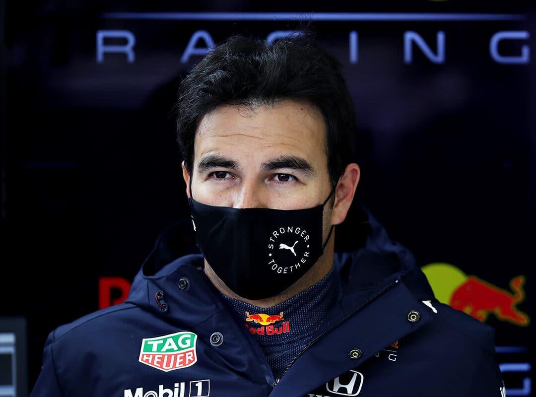Perez si poprvé sedl za volant Red Bullu na Silverstonu