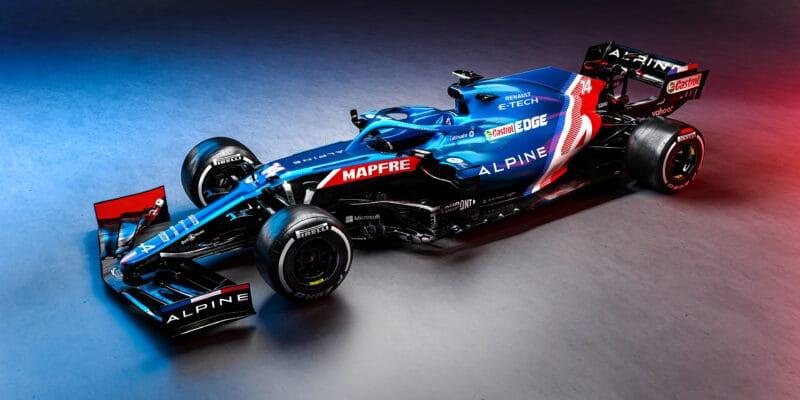 Alpine F1 představil svůj monopost formule 1