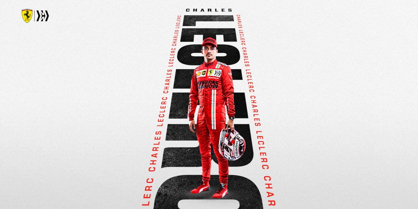Leclerc strávil v garáži Ferrari víc času než kdy předtím