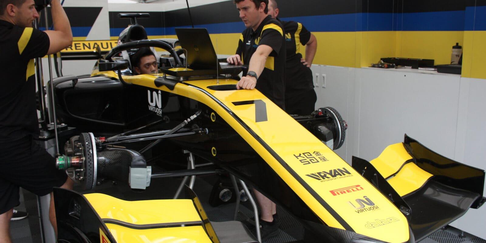 Hlavní závod F2 vBahrajnu patřil Kuan-Jü Čouovi