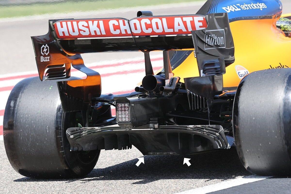 McLaren prekvapený, že ostatné tímy tiež nevyskúšali nový difúzor