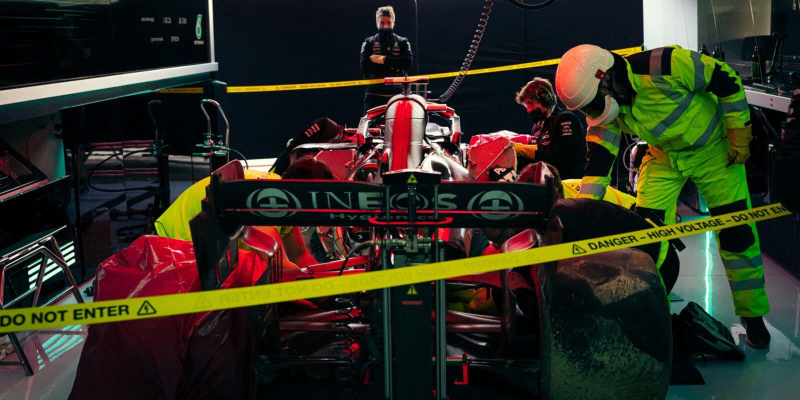 Bottasův problém s pneumatikami, hlavní cíl Mercedesu