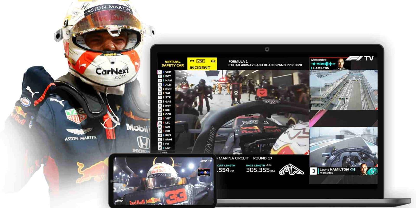 Recenze F1 TV Pro: Revoluce online přenosů formule 1?