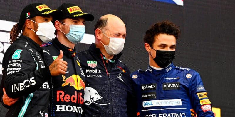 Náročný závod i pro tři nejrychlejší jezdce