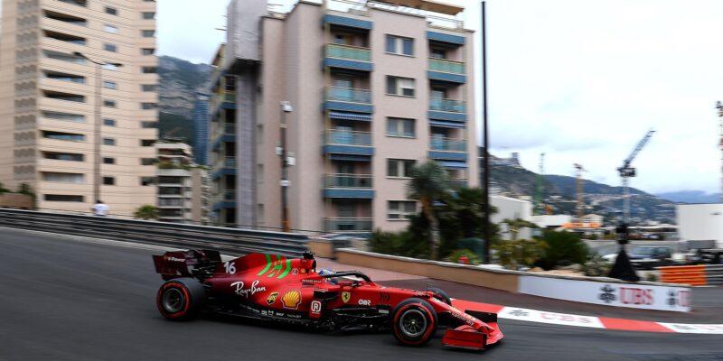 Nejrychleším pilotem v uličkách Monaka byl Charles Leclerc