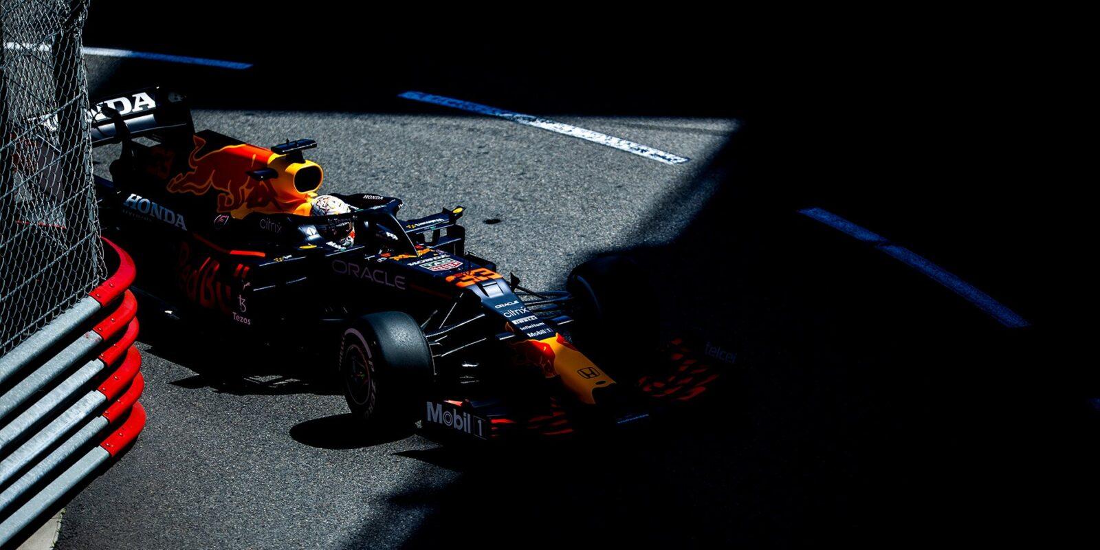 V posledním tréninku v Monaku byl nejrychlejší Verstappen