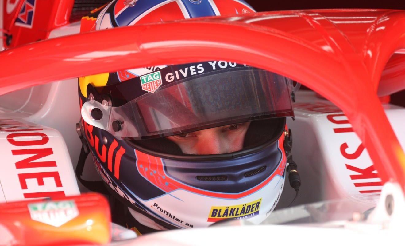 V kvalifikaci F3 byl nejrychlejší Nor Dennis Hauger