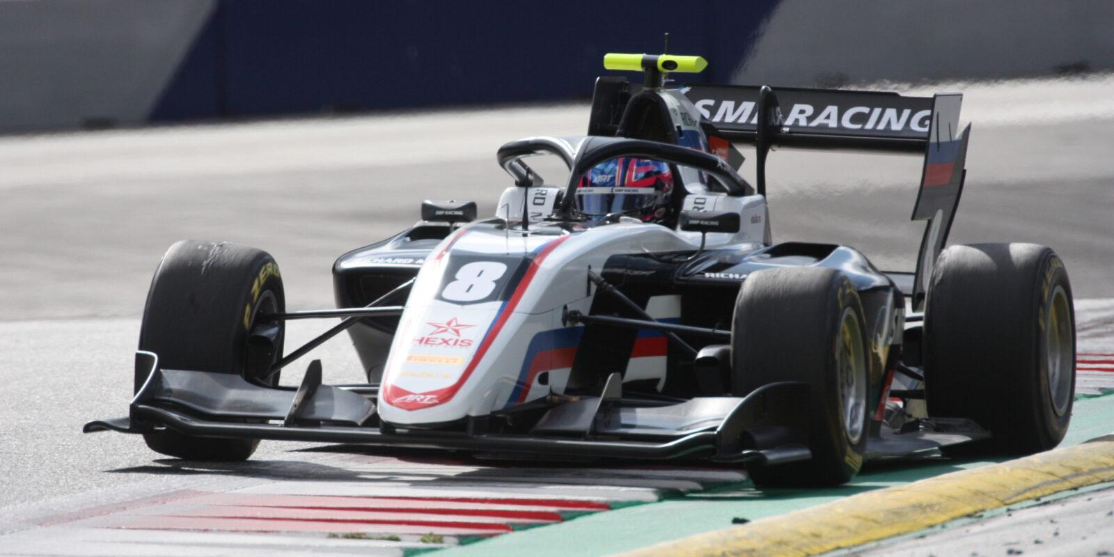 Barcelona: Úvodní závod F3 vyhrál Smoljar, Sargeant čtvrtý