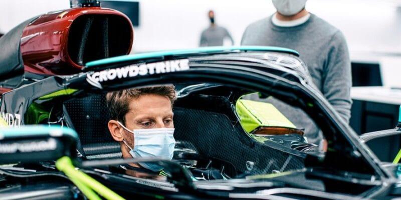 Grosjean sa odvezie v Mercedese